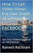 How do you like to get Video Views on FACEBOOK for 1/10th of a Penny or Less? Here is a very simple strategy for you to achieve that in Less Than 30 MINUTES!This is a Set and Forget system that will Make you Money Online on Autopilot. Grab Your Copy ...