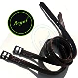 Royal Fancy Triple Covered Leather Stirrup.