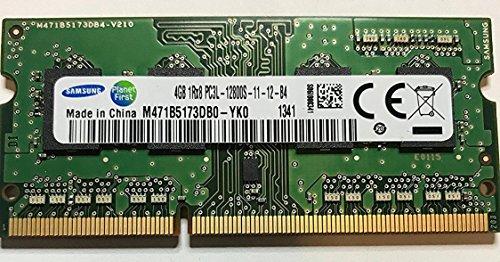 Samsung ram memory 4GB (1 x 4GB) DDR3 PC3L-12800,1600MHz, 204 PIN SODIMM for laptops