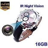 Hidden 16GB Watch Camera HD 1080P Infared Night Vision Mini Camera Wrist Smart