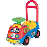 Kiddieland Mickey and Friends Activity Gears Ride-On, 19.62 x 9.50 x 18.50 Inches