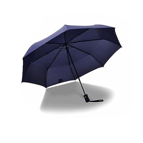 Paraguas plegable abrir y cerrar automático Win-Y Paraguas de Viaje 8 Ribs 210T Impermeable