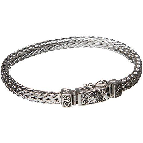 Bouddha to Light Handmade Argent Sterling Biker Bracelet Wire eie 299eur