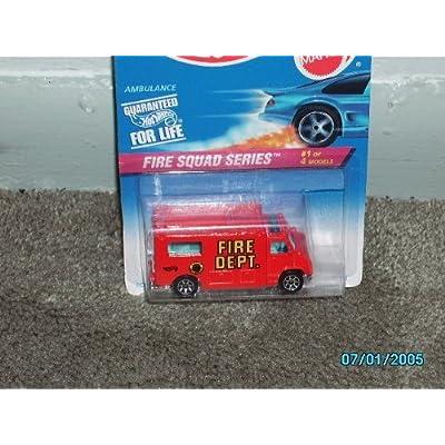 Hot Wheels Ambulance Fire Squad Series #1 of 4 models: Toys & Games