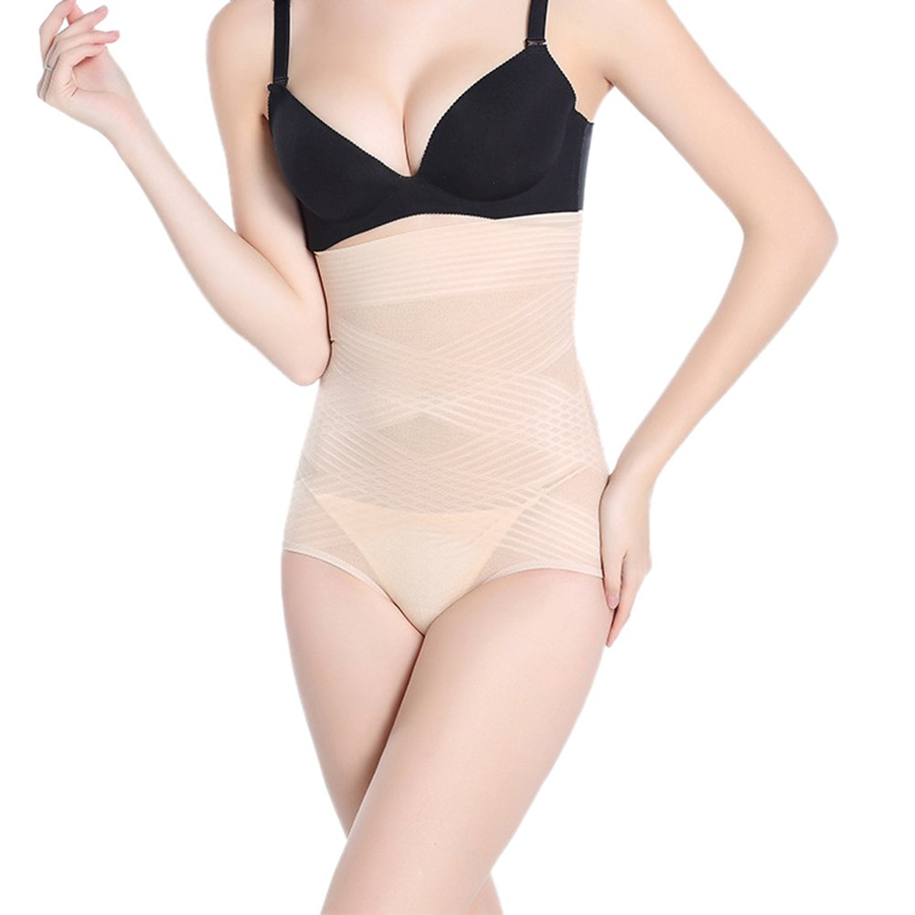 Chickle Women's High Waist Slimming Tummy Control Shapewear 2XL Nude -ChuY-8608-2-3XL