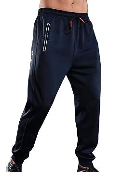 Runyue Hombre Pantalón Jogger Pantalones Entrenamiento ...