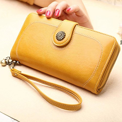 Phone Bag Women Handbag Wallet Purse Long KIMODO Card Yellow Ancient Ways Clutch Style vqUnHBw