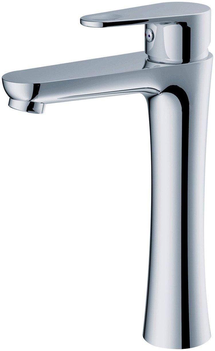 LSRHT Waschtischarmatur Wasserhahn Armatur Badezimmer Waschbecken Mischbatterie Kupfer Weiß Lack tb-04
