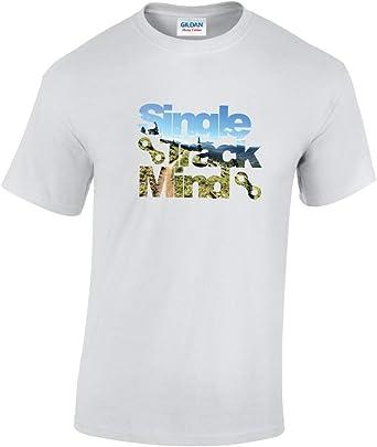 Single Track Mind - Camiseta de ciclismo para bicicleta de montaña: Amazon.es: Ropa y accesorios