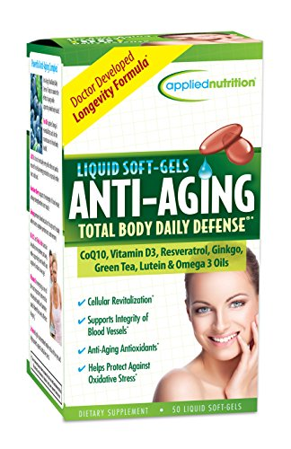 Applied Nutrition Anti-aging Total Body Daily Defense, (Daily Cell Defense)