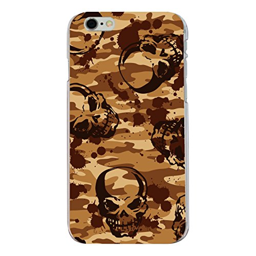 "Disagu Design Case Coque pour Apple iPhone 6s Plus Housse etui coque pochette ""Skull-Camouflage"""