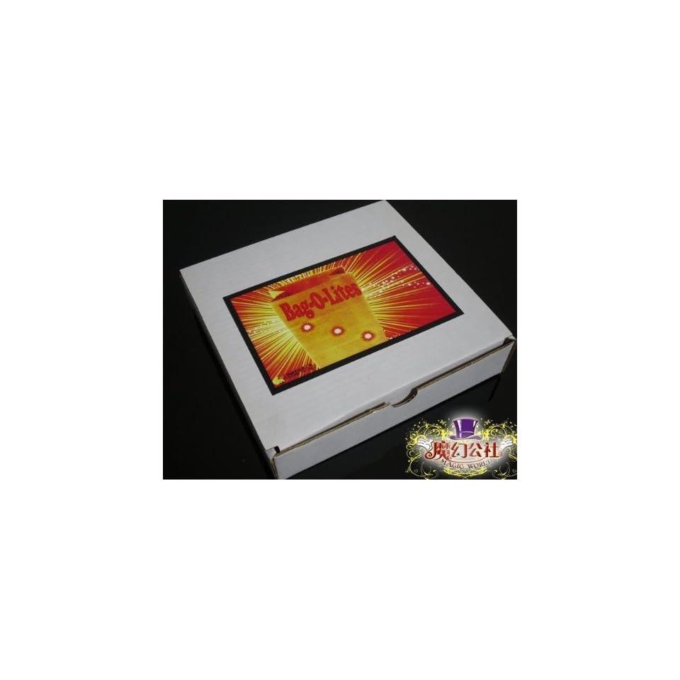 magic bag with light bag lites/magic props magic tricks magic sets magic toys close up magic stage