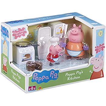 Peppa Pig 5 Piece Kitchen Playset