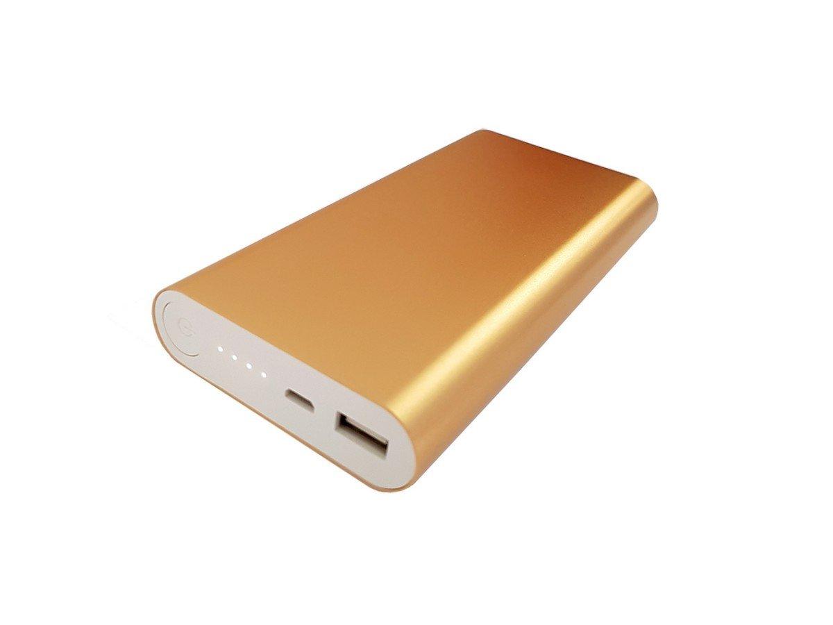 GiXa Oro 12000 mAh universal Power Banco batería adicional externa ...