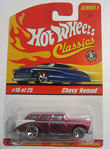 - Chevy Nomad Hot Wheels Classics Series 1 - Magenta 16 of 25
