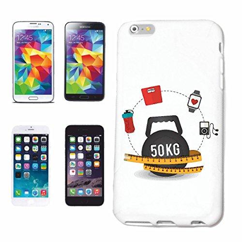 "cas de téléphone iPhone 7+ Plus ""Musculation FITNESS MUSCULATION GYM GYM muskelaufbau SUPPLEMENTS WEIGHTLIFTING BODYBUILDER"" Hard Case Cover Téléphone Covers Smart Cover pour Apple iPhone en blanc"