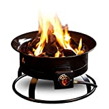 Outland Firebowl 823 Outdoor Portable Propane Gas Fire Pit, 19-Inch Diameter 58,000 BTU