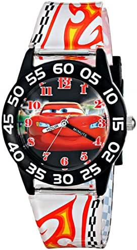 Disney Kids' W001682 Cars Lightning McQueen Plastic Watch