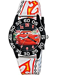 Kids' W001682 Cars Lightning McQueen Plastic Watch