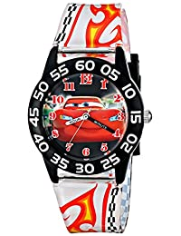 Disney Kid's W001682 Cars Lightning McQueen Plastic Watch