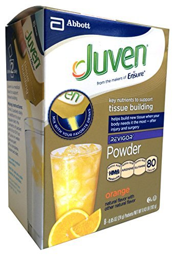Juven Therapeutic Nutrition Powder, Orange, 8 Packets, .8...