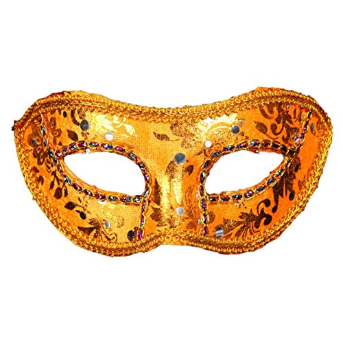 Smartcoco Halloween Masquerade Embroidered Lace Mask Halloween Venetian Costumes Decoration Masquerade Party Bars