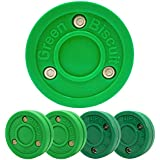 Green Biscuit 4 Pack| 2 Passers and 2 Shooters |Off-Ice Shooting, Stickhandling and Passing Pucks