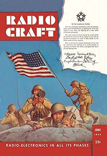 Radio Craft: American Soldiers Stake the Flag 12x18 Giclee On Canvas - Buyenlarge Flags