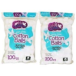 White Dove Cotton Balls, 100% Pure Cotto...