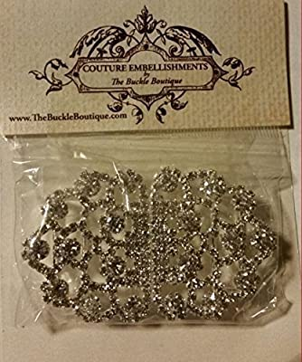 The Buckle Boutique Ornate Rhinestone Clasp Buckle for Boxed Invitations