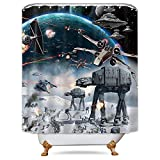 Best Star Wars Home Curtain Panels - LIGHTINHOME Stormtroopers in Star War Movie Shower Curtain Review