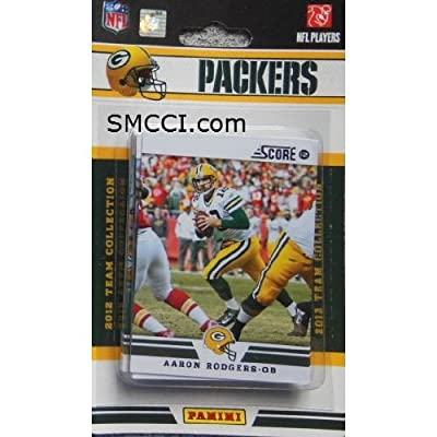 2012 Score Green Bay Packers Factory Sealed 12 Card Team Set Including Aaron Rodgers, Charles Woodson, Jermichael Finley, James Starks, Greg Jennings, Clay Matthews, Aj Hawk, Desmond Bishop, Jordy Nelson, B.j. Coleman, Nick Perry and Marc Tyler.
