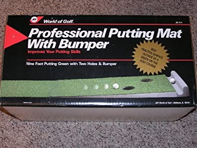 Professional Putting Mat With Bumper