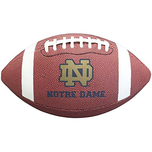 Baden Composite Football (NCAA Notre Dame Fighting Irish Composite Football, Brown, Official Size)