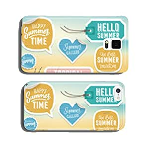 Summer holiday vacation stickers and labels cell phone cover case iPhone6 Plus