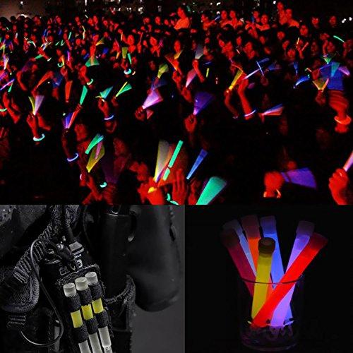 Ezyoutdoor Pack of 10 pieces Light Stick Glow Sticks SpotOn ChemLight 8 Hours Emergency Safety Chem Light Sticks Snaplights Random Color by ezyoutdoor (Image #6)
