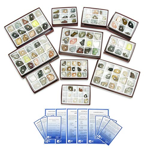 - American Educational 126 Piece Comprehensive Mineral/Physical Property Collection