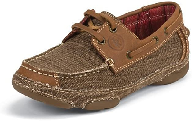 Foot Straw Canvas with Tan Leather