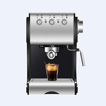DSKJ Maquina De Cafe Cafetera Semi Automática De Vapor Comercial Semi Doméstica.: Amazon.es: Hogar