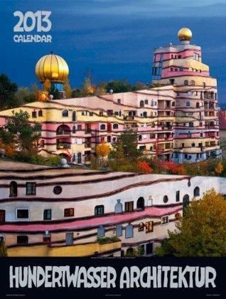 Grosser Hundertwasser Architektur Kalender 2013