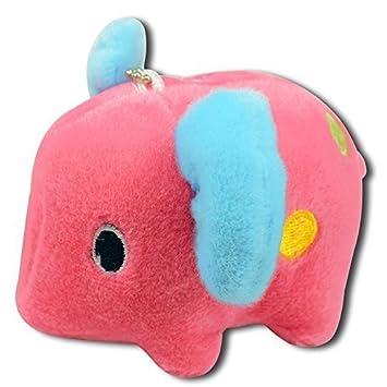 Amazon.com: Cute Baby Rojo elefante con azul, verde ...