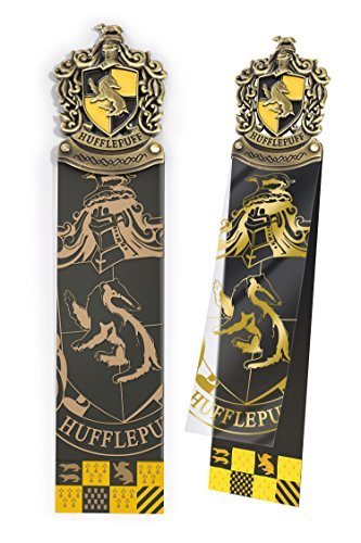 - The Noble Collection Harry Potter Hufflepuff Crest Bookmark