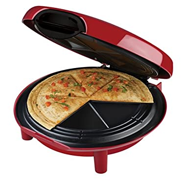 George Foreman GFQ001 Quesadilla Maker, Red