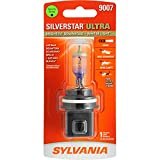 SYLVANIA - 9007 SilverStar Ultra - High Performance Halogen Headlight Bulb, High Beam, Low Beam and Fog Replacement Bulb, Brightest Downroad with Whiter Light, Tri-Band Technology (Contains 1 Bulb)