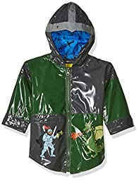 Kidorable Dragon Knight Raincoat, Grey, 3T