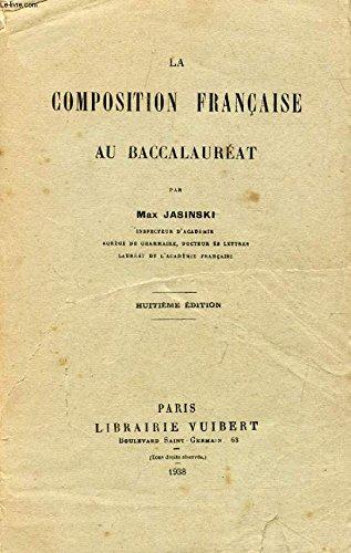 La Composition française au baccalauréat