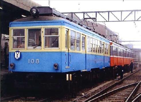 Nゲージ NT121 箱根登山鉄道 モハ2形 青塗装 108号車 (M車) B004JHII36