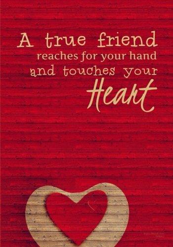 Journal Friends (A True Friend - A Friendship Journal)