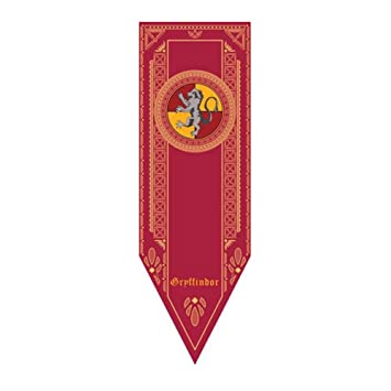 Harry Potter Wall Flag Banner , Gryffindor Slytherin Hufflepuff Ravenclaw House  Flags Collection (RED(