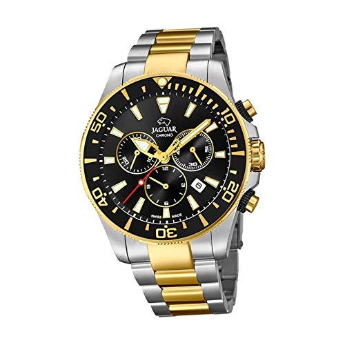 Reloj JAGUAR Executive Hombre J862/1-2 / Reloj cronógrafo Suizo con Brazalete de Acero